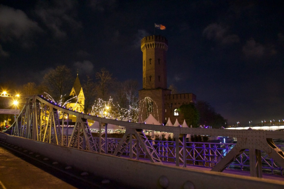 The Colourful Lights of Cologne